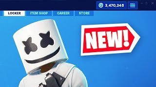 The *NEW* MARSHMELLO EVENT in FORTNITE! (MARSHMELLO SKIN BACK)