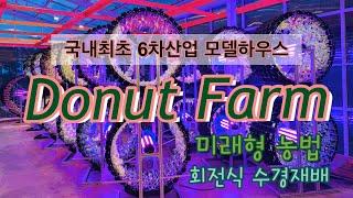 [수경재배] [스마트팜] 도넛팜 - 국내최초 6차산업 …