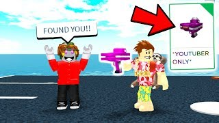 Roblox Gave Me An EXCLUSIVE Item.. FIND ME If You Want It.. (Roblox)