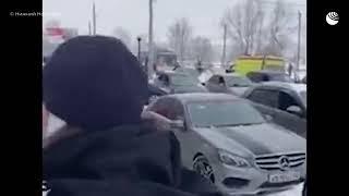 Последствия взрыва в Нижнем Новгороде