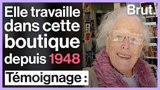 Фото À 102 Ans, Henriette Travaille Toujours Dans Sa Boutique Ouverte En 1948