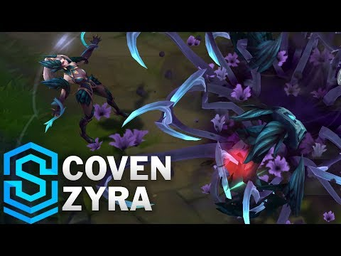 Coven Zyra Skin Spotlight - League of Legends