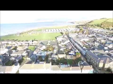 Aberaeron WEST WALES  Ceredigion DJI Advanced 3
