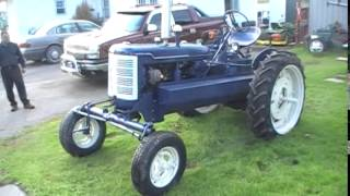 Super C, Wood Gas Tractor Project
