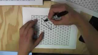 Video Isometric Sketching Tutorial download MP3, 3GP, MP4, WEBM, AVI, FLV Juli 2018