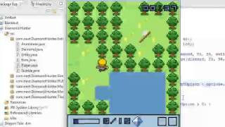 Diamond Hunter - Java 2D Game with source code