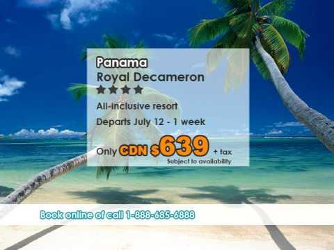 Royal Decameron Panama vacation deal from Montreal