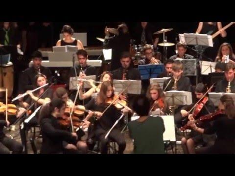 Casalmaggiore. La Bertolucci Swing Band del liceo 'Attilio Bertolucci' di Parma