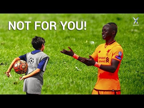 Players vs Ball Boys ● Funny, Fails, Skills & Other