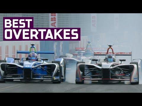 Top 30 Overtakes Of Season 4! | ABB FIA Formula E Championship