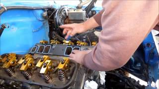 1974 Chevy C10 short bed 489 gen 6 engine install part 2