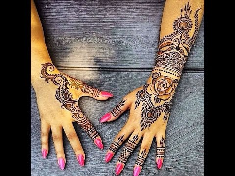How To Apply Indian Henna Tattoo Youtube