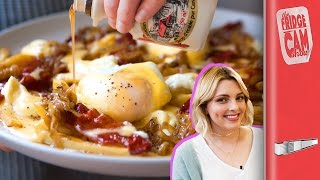Breakfast Poutine Recipe ft. Estée Lalonde | FridgeCam