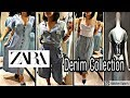 ZARA Women's Fashion June2019  | ZARA Denim Collection