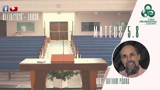 Reflexão: Mateus 5.8 - IPT