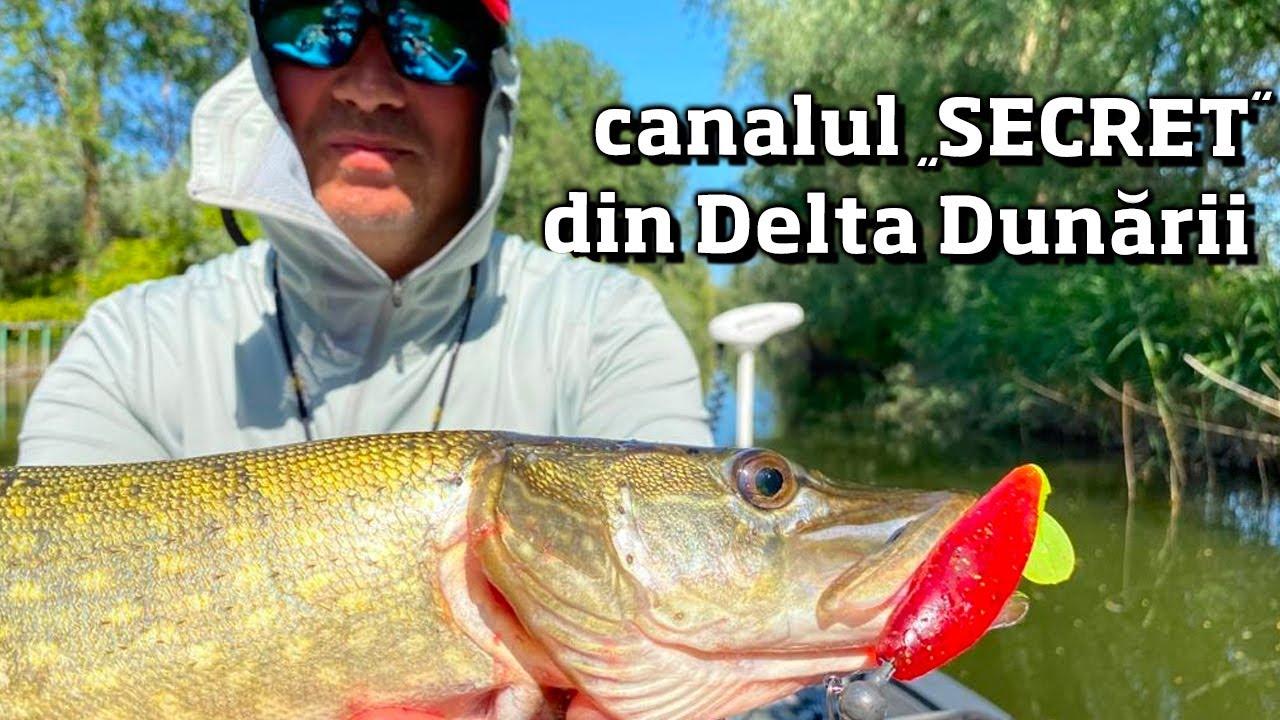 STIUCILE de pe CANALUL SECRET. Tehnici si abordari pentru un pescuit eficient.