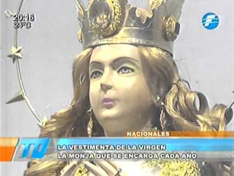 Así lucirá la Virgen de Caacupé el 8 de diciembre -02/12/2015