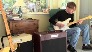 Smith Custom Amplifier with Weber Blue Dog 50 watt speaker