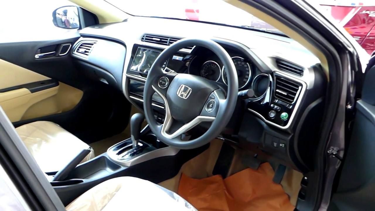 Honda City Automatic Interior 2017 Model Youtube