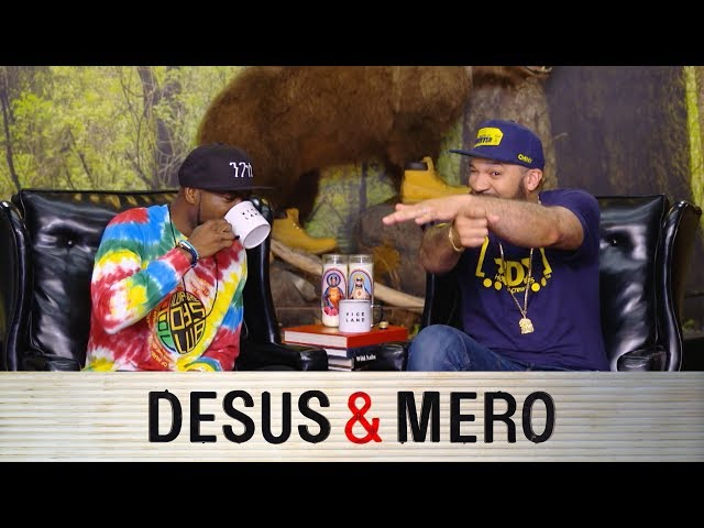 The Sports Pope Blessed the 'Desus & Mero' Finale on Viceland - The
