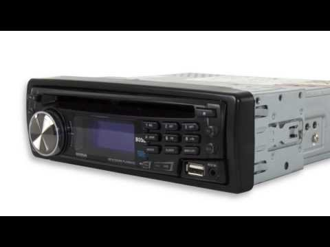 Boss in-dash CD/MP3 Player with USB Aux Receiver | 658UA