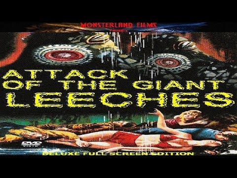Attack Of The Giant Leeches Science Fiction Horror Movie  Ken Clark, Yvette Vickers, Jan Shepard