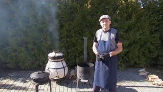 Казан чугунный 12 литров, ОАО Технолит Беларусь. Видео-обзор от магазина пикник в Минске.