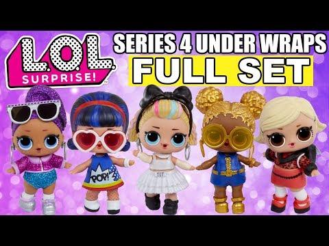 Under Wraps Doll Eye Spy Series 4 Wave 1 LOL Surprise