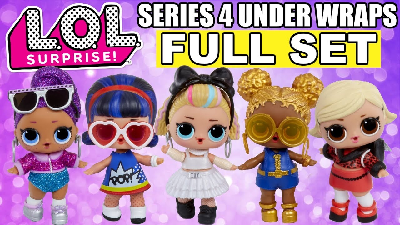 LOL Surprise Doll Series 4 Under Wraps Eye Spy The Great Baby /& Lil Sister Rare