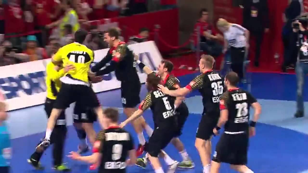Handball EM Die Top 5 Tore Deutschland gegen Dänemark | Sportschau