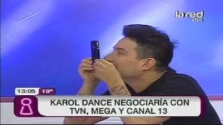 Más detalles sobre la posible salida de Karol Dance de CHV