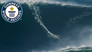 Largest wave surfed - Guinness World Records