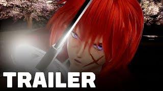 Jump Force: Rurouni Kenshin Characters Gameplay Trailer (Himura Kenshin, Shishio Makoto)