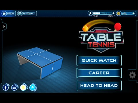 Table Tennis 3D Live Ping Pong Game Play Trailer by The App Guruz (FREE2PLAY)