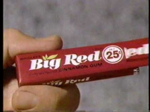 1988 Wrigley's Big Red Gum Commercial