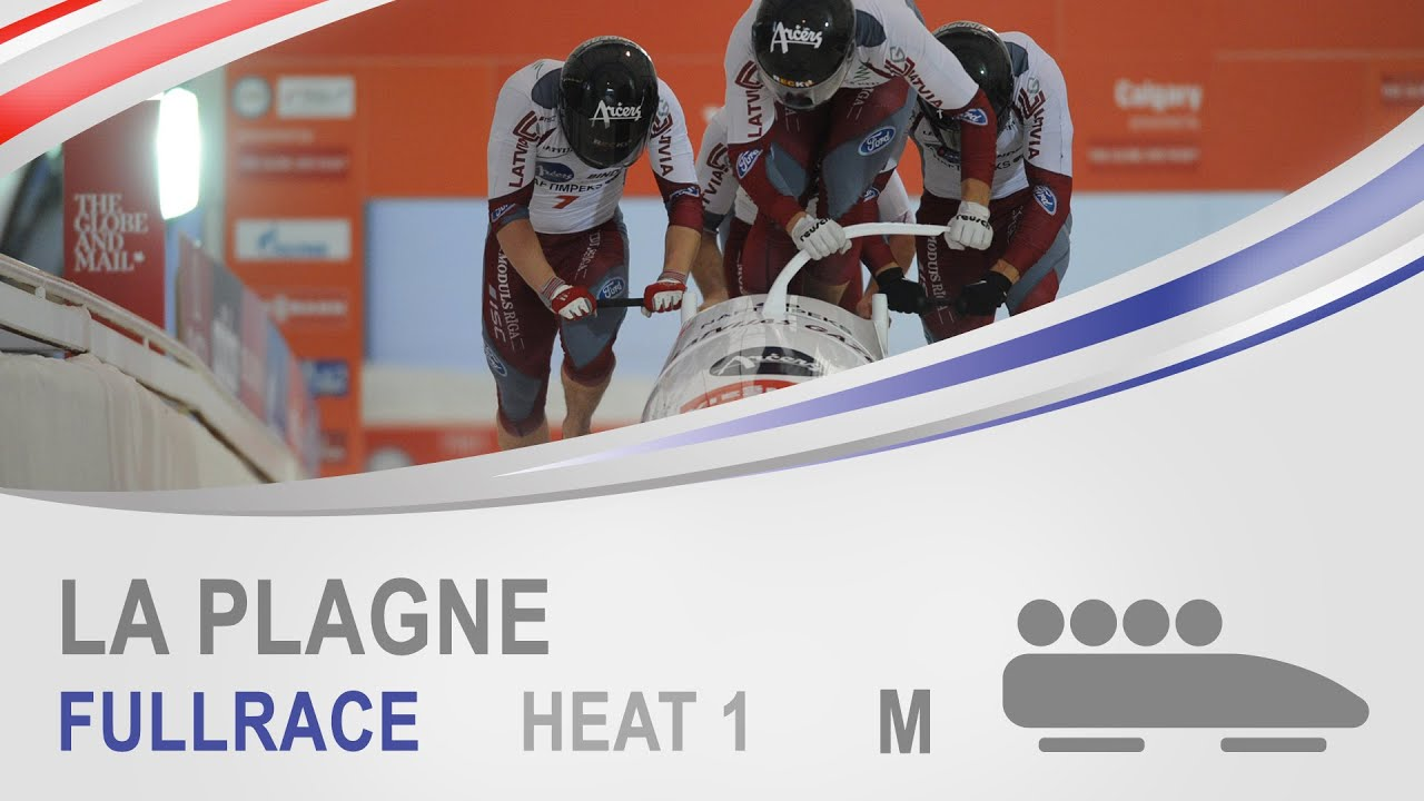 La Plagne | 4-Man Bobsleigh Heat 1 World Cup Tour 2014/2015 | FIBT Official
