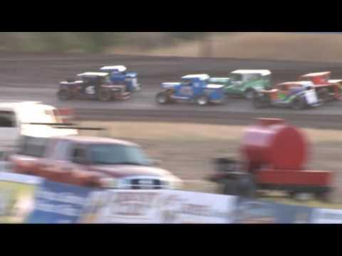 Southern Oregon Dwarf Cars (SODCA) at SO. Speedway 8/3/19 Heat 4