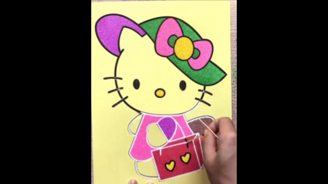 لولو كاتي تلوين رسوم متحركة كارتون لولو كاتي الصغيرة Youtube