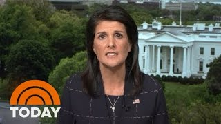 Nikki Haley To North Korea: 'Don't Give Us A Reason' To Fight With You | TODAY