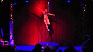 Pole Dance Ireland Pole Princess Competition 2015 - Jenna Maloney