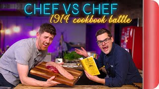 CHEF VS CHEF 1914 COOKBOOK BATTLE