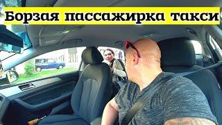 Таксист высадил борзую пассажирку таксиyandex.taxi
