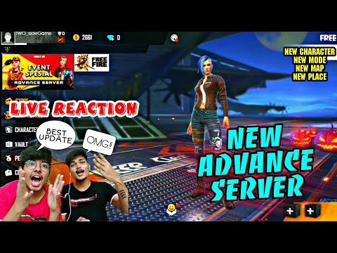 FREE FIRE    NEXT BIG UPDATE ,NEW LOBBY NEW CHARACTER NEW GUNS MANY MORE   LIVE REACTION