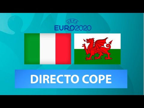 (SOLO AUDIO) Directo del Italia 1-0 Galés en Tiempo de Juego COPE