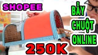 BUI VLOGS | Dùng Thử Bẫy Chuột Giá 250k Trên Shopee