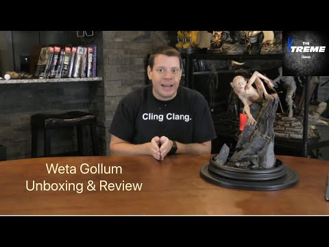Is This Lord Of The Rings Gollum Statue By Weta Really Worth Almost $2000? Unboxing & Review Here