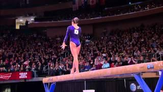 Jordyn Wieber - Balance Beam - 2012 AT&T American Cup