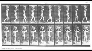 Repeat youtube video Cronolectura de la Cronofotografía de EADWEARD MUYBRIDGE * Antonio Ferreira