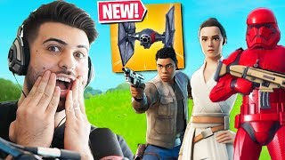 *NEW* STAR WARS x FORTNITE COLLABORATION EVENT! (Fortnite Battle Royale)
