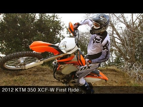 motousa first ride 2012 ktm 350 xcf w youtube 2012 KTM 450 XC-W Specs